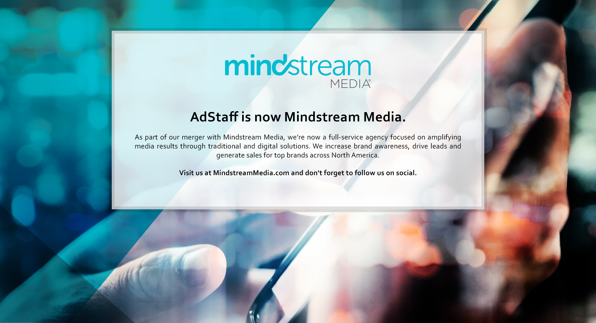 AdStaff is Now Mindstream Media